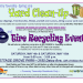 SPRING YARD WASTE & TIRE RECYCLING EVENTS SCHEDULED