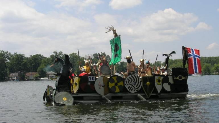 Portage Lakes Boat Parade