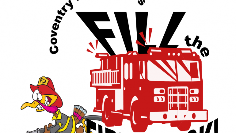 FILL THE FIRE TRUCK – COMMUNITY FOOD DRIVE